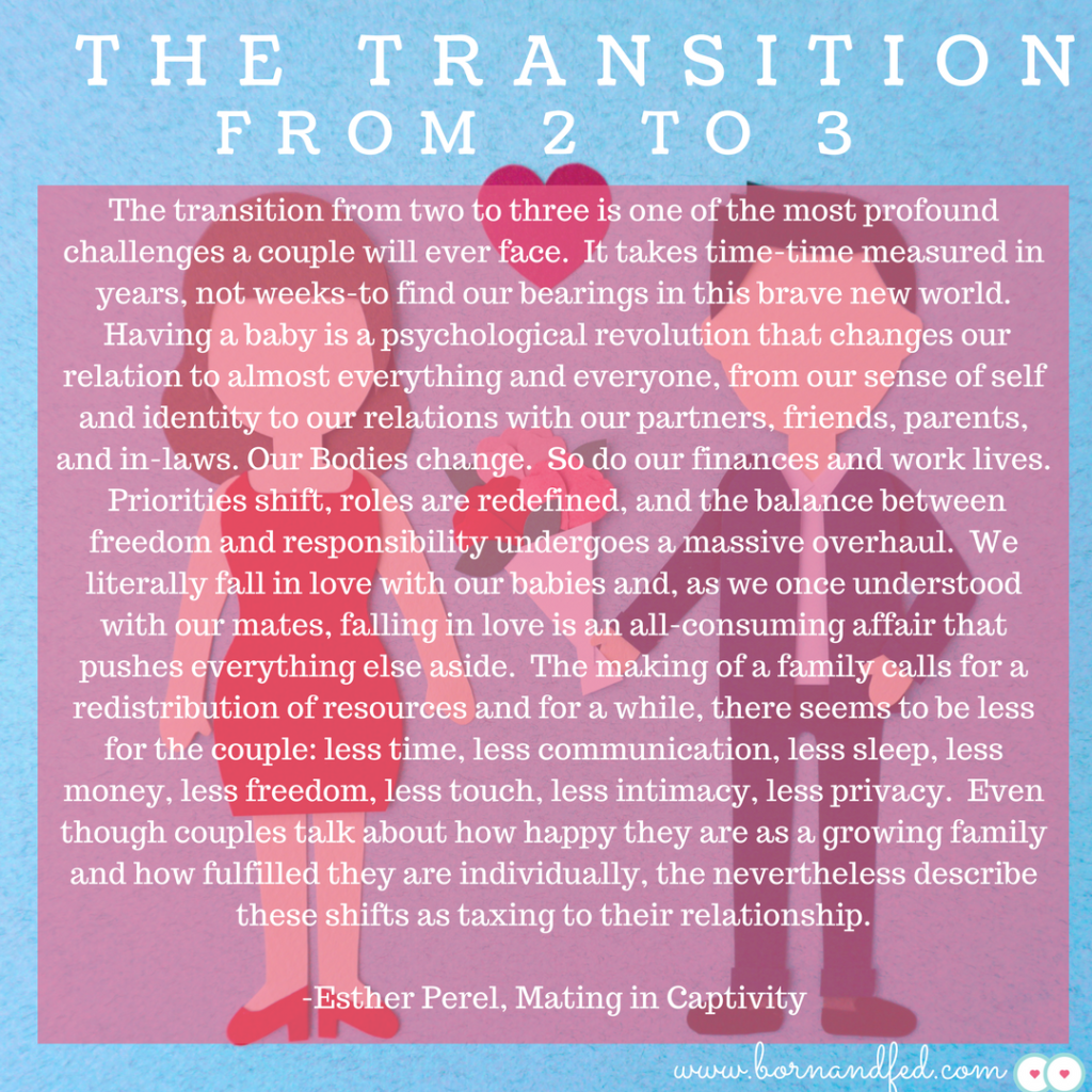 #bornandfed-Transition from 2-3. Postpartum Sex.