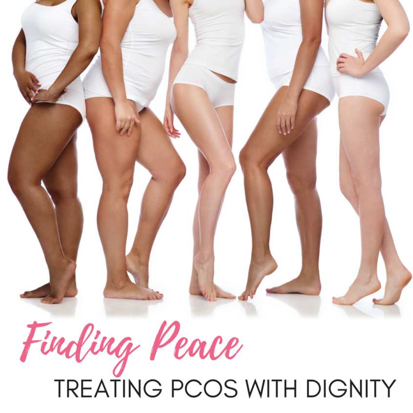 #bornandfed-Finding Peace: Treating PCOS with Dignity. Ditch the PCOS Diet