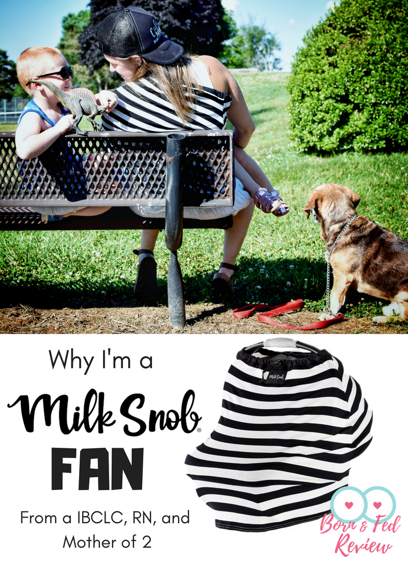#bornandfed-Milk Snob is a 5-1 cover that was created by a mother who saw a need in the market and then killed it. Milk Snob is a breathable cover that can be used to cover carseats, nursing, shopping carts, high chairs and infant swings. They are so freaking functional, you almost can't live without one. More why I love Milk Snob Here.