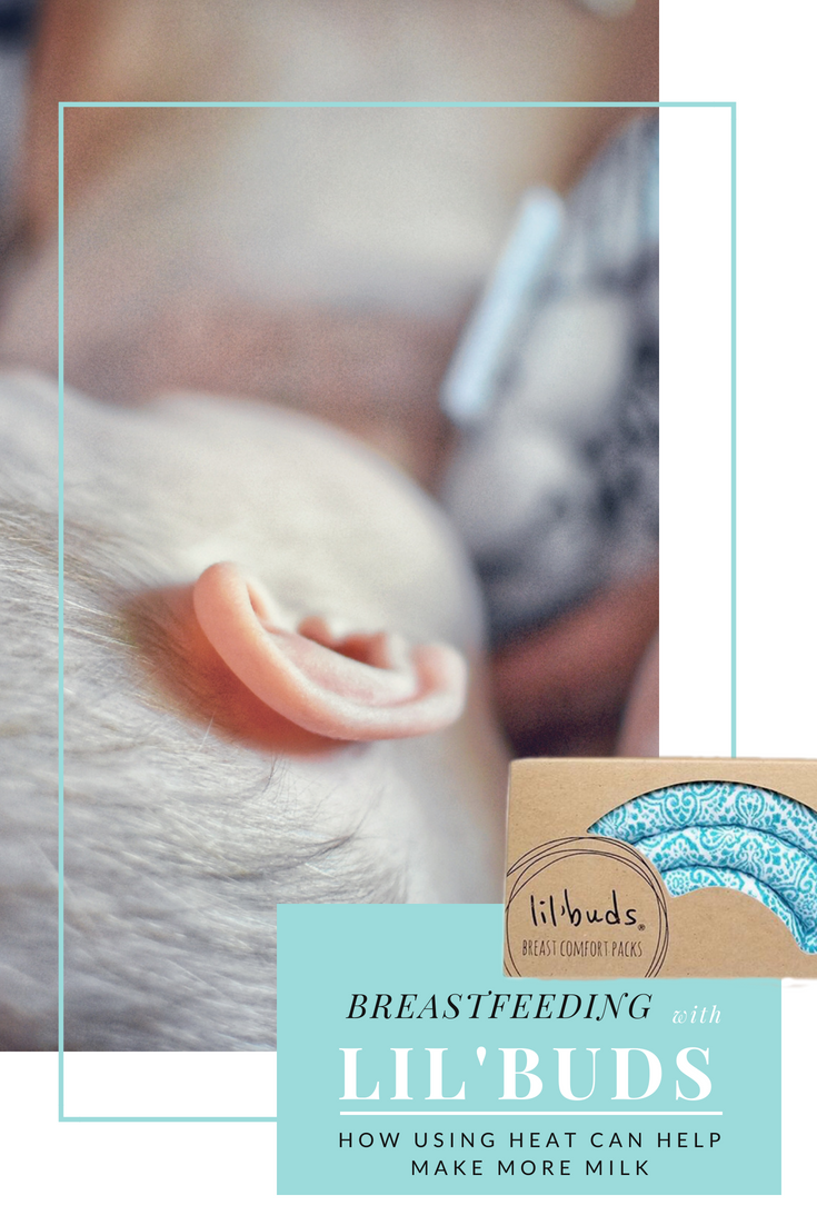 #bornandfed- Heat can help you make more milk!  Did you know heat dilates the milk ducts help you express more milk quickly and ultimately increases supply?  Find out how Lil' Buds breast comfort packs can increase supply, help with clogged ducts, and mastitis.  #breastfeedingproducts #breastfeedingtips #breastfeedingpads